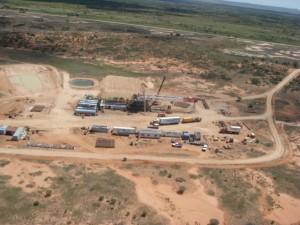Beach Energy drilling for shale gas in South Australia. Photo: Beach Energy.